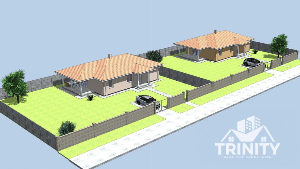 Novostavba rodinného domu na predaj v obci Komoča