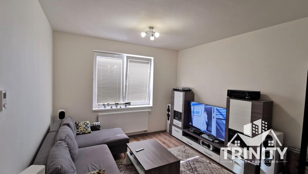 Na prenájom 2-izbový byt v novostavbe v meste Nové Zámky na ul. Andovskej